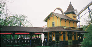 Cedar Point and Lake Erie Railroad - Funway Station
